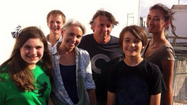 My students with Richard Linklater at AFS