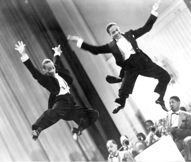 From left: Fayard Nicholas and Harold Nicholas in Andrew L. Ston