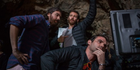 30 - Directors Mark Dennis and Ben Foster at Bronson Cave
